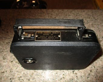 Antique Cine-Kodak Eight Model 20 Movie Camera - f 3 5 Lens