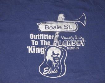 Set of 2 Rare NOS Vintage 1980s Elvis Presley T Shirts