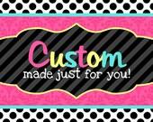 Custom Listing for Madison