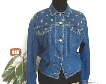 Vintage Krizia Jeans denim jacket 80s