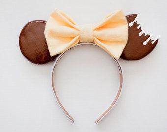Mickey Mouse Headband / Minnie Mouse Headband / Disney Headband / Disneyland Ears / Disney World Ears / Minnie Ears / Mickey Ears / Gift