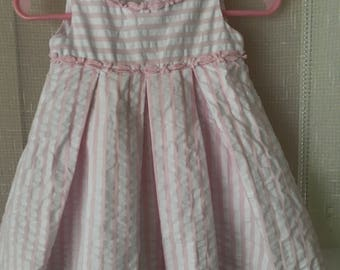 Savannah Baby Dress, 0-3 mos.