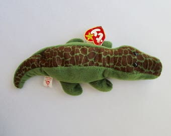 Ty Beanie Baby Ally the Alligator 4032 Original Tags