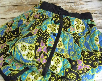 Vintage 1960s Maxi Skirt, 1960s Floral Print Maxi Skirt, Size Small Maxi Skirt, 1960s Maxi Skirt, Womens 60s Clothing Skirts, Union Made