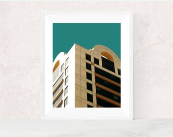 Digital download | URBAN POP NO.2 | Pop art photo print | bright art print | printable decor | urban photography | scandinavian art print
