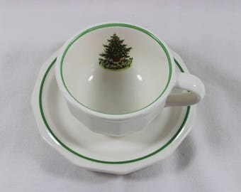 Pfaltzgraff Christmas Heritage Teacup and Saucer