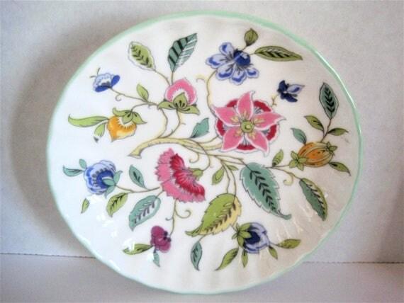 Minton Floral Dish, Hadden Hall,  Collectible Dish, Bone China England