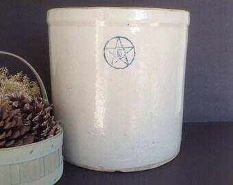 Salt Glaze Crock Etsy