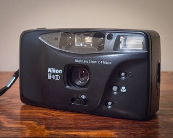 Nikon AF 400, Nikon Camera, 35mm Camera, Film Camera, Point And Shoot, Macro, Vintage, 1990s, Macro, Photography, Flash Photography