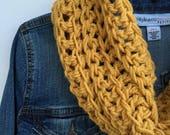 Crochet Infinity Scarf Pattern, Crochet Scarf Tutorial, Crochet Cowl Pattern, Crochet Pattern, Chunky Scarf Pattern, Easy Scarf Pattern