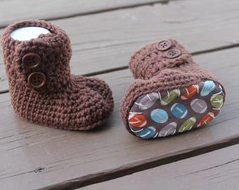 Baby Boy Booties, Baby Boots, Football, Newborn Baby Boy