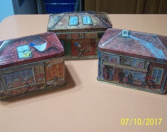 Made in Italy Set of 3 Tins