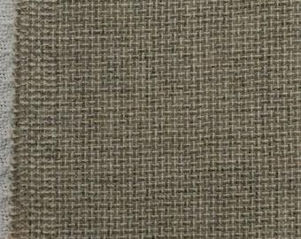 Wool Fabric / Brown Wool Fabric / Tan Wool Fabric /Beige Wool Fabric /  Wool Fabric Yardage