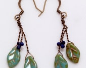 RESERVE FOR TAMMEY  Dangle Earrings with lapis
