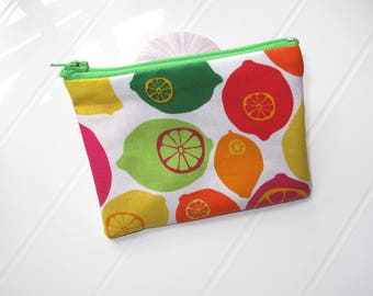 Small purse with Lemons