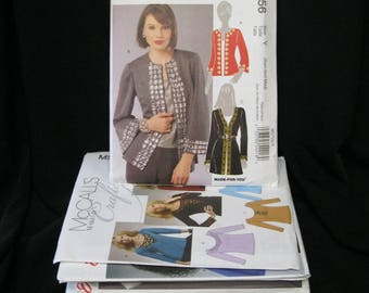 Lot of 12 patterns, XS - L/ 4 - 14, NOS, store liquidation, McCall's 5930, 5713, 5662, 5854, 6704, 5988, 7231, 5979, 5985, 5856, 5756, 6710