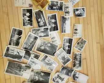 35 Fabulous Vintage Beautiful Black & White Photographs Portraits People  Cottages Fish Fishing Nothern Michigan 1940's 1950's Lake