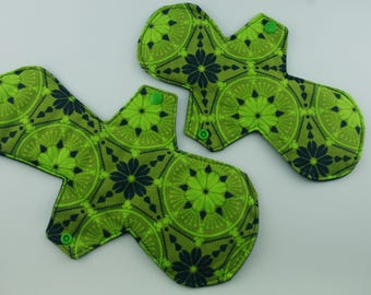 Compass Green Washable Reusable Cloth Menstrual Pad - suitable for postpartum