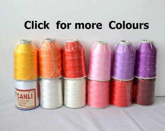 100gr polyester oya crochet thread Turkish lace yarn thread no50 thread haakgaren for needle no 21 / 0,55 mm Embroidery Crochet Lace Jewelry