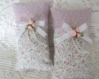 Lavender Sachets, Drawer Sachets, Pink Rose Sachets, Scented Gift, Fresh Lavender Buds, Pillow Sachets, Handmade Pillows