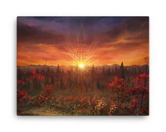 Solar Memory Canvas Print
