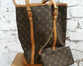 Louis Vuitton bucket bag vtg