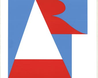 Robert Indiana-Art-1997 Serigraph
