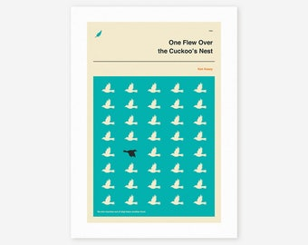 One Flew Over The Cuckoo's Nest (Giclée Fine Art Print/Photo Print/Poster Print)