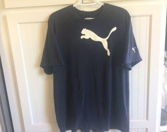 Puma vintage t shirt size large