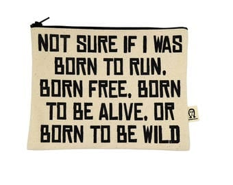 born to run pouch