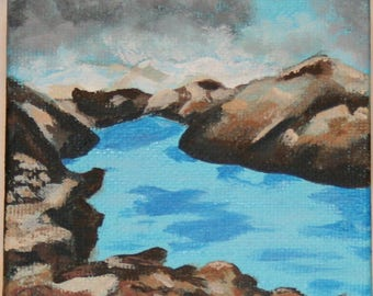 Cove mini painting