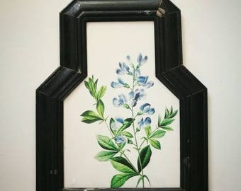 Bottle Flowers Picture Frame