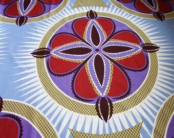 Wax fabric African flower/Ankara/African Wax print.