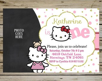 Hello kitty birthday Etsy