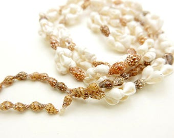 Boho shell necklace jewelry