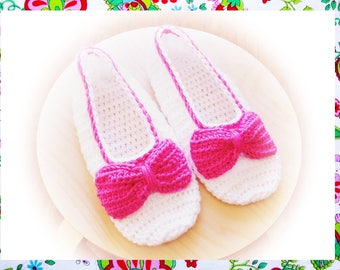 Kate Slippers Crochet Pattern