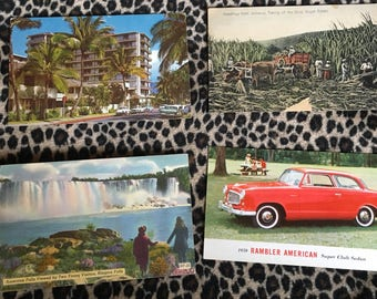 Post card lot
