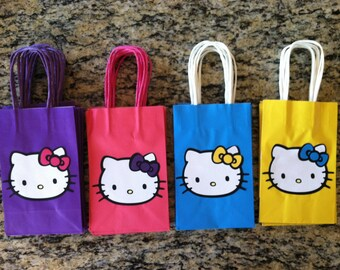 Hello Kitty Party Favor Bags set of 6