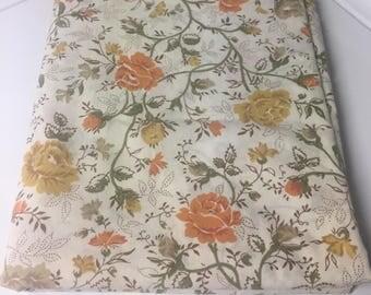 Vintage Full Flat Sheet