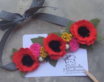 Flamenco halo/headband