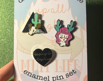SALE - Pin pack set 9