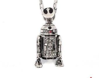 ON SALE Star Wars R2D2 Pendant