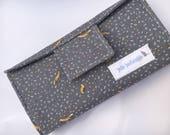Cash Budget Wallet -- Cash Envelope Wallet -- Dave Ramsey -- Cash Budgeting -- Cash Budget -- Budget System -- Wallet -- Fabric