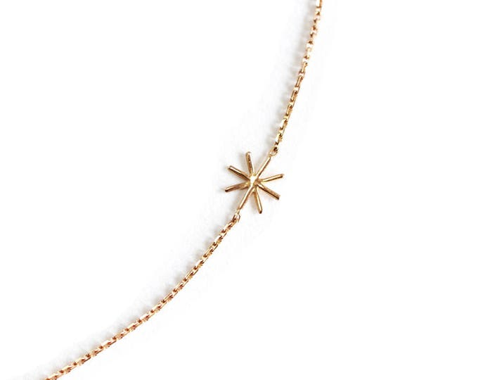 Gold or silver necklace Orion - Cocteau inspiration - 18 ct rose gold - yellow gold - white gold or silver