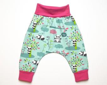 Baby pants newborn trousers panda