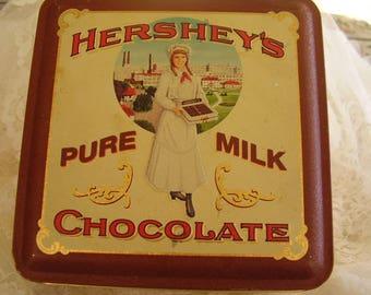 HERSHEY'S CHOCOLATE Collectible TIN/1992