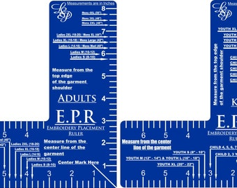 Embroider Placement Ruler