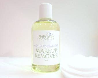 Makeup Remover - Natural Gentle - Eye Make-Up Remover for All Skin Types - Oily - Sensitive - Acne Prone - Dry - Combination  - 4 oz