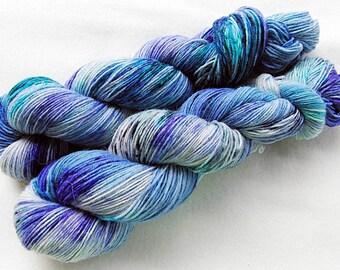 Handdyed SockYarn, 75 Wool, 25 Nylon 100g 3.5 oz. Nr. 157