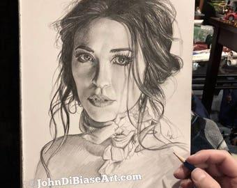Original Drawing of Lauren Daigle (NOT a print)